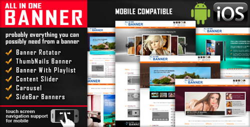 jQuery Banner Rotator-Content Slider-Carousel
