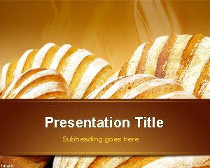 Bakery PowerPoint Template is FREE for downloading