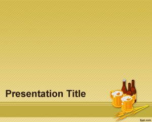 Beer Barley PowerPoint Template is free for downloading