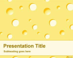 Cheese PowerPoint Template is FREE for downloading