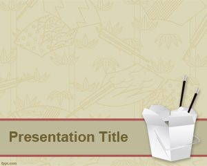Chinese Food PowerPoint Template is FREE for downloading
