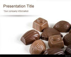 Chocolates PowerPoint Template is free for downloading