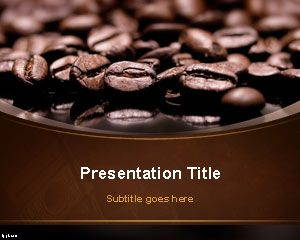 Coffee Beans PowerPoint Template is FREE for downloading