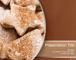 Cookies PowerPoint Template is FREE for downloading