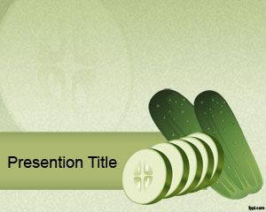 Cucumber PowerPoint Template is FREE for downloading