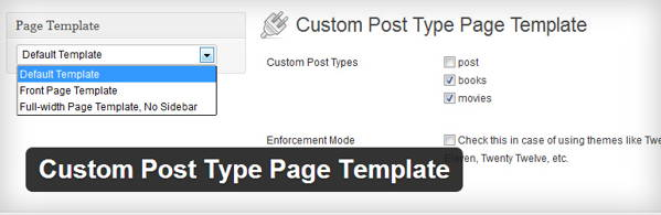 [WordPress plugin] Custom Post Type Page Template - Create a special page to display the custom post type posts
