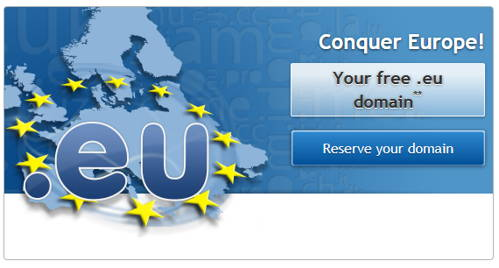 How to get FREE .EU domain from OVH