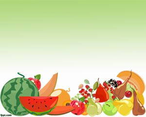 Fruit Pictures in PowerPoint Template is FREE for downloading