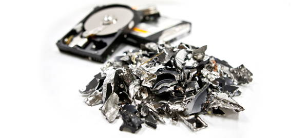 Shredding of Computer Hard Drives will ensure that the parts will go through the recycling process as per the established standards.