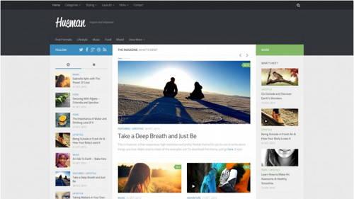Hueman - Free WordPress Theme