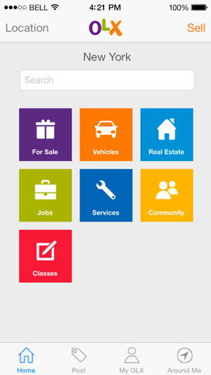 OLX Free Classifieds 1 - The FREE online classified advertising for iOS