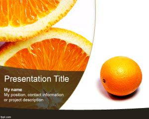 Orange PowerPoint Template is FREE for downloading