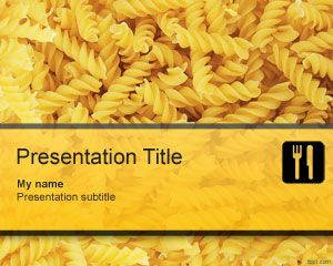 Pasta PowerPoint Template is FREE for downloading
