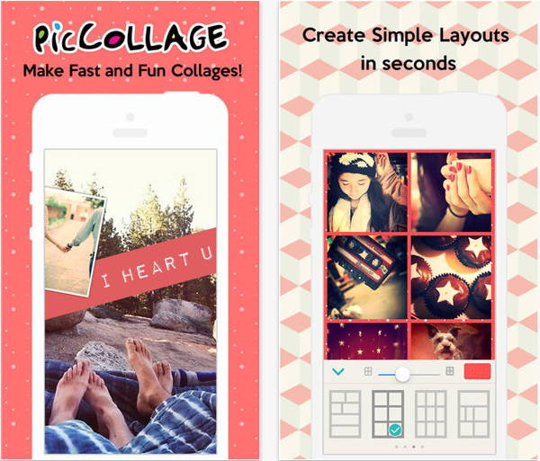 Pic Collage is a photo collage maker for iOS