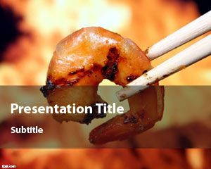 Shrimp PowerPoint Template is FREE for downloading