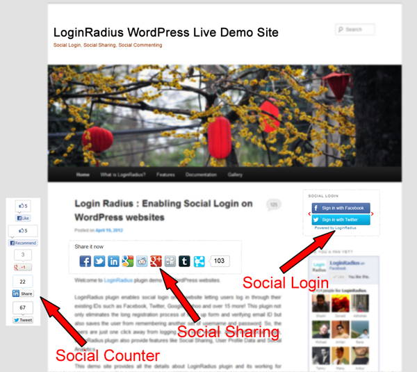 Download FREE plugin: Social Login for WordPress - Social Login, Social Sharing and Social Counter