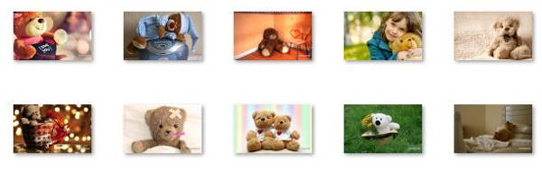 Download FREE Teddy Bear Windows 8 Theme