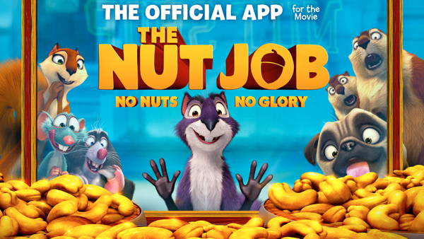 Get FREE game The Nut Job - The Official App for the Movie for Android 1