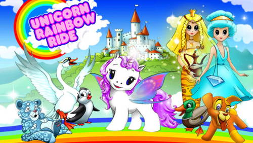 Unicorn Rainbow Ride to become FREE for a day for iOS devices!