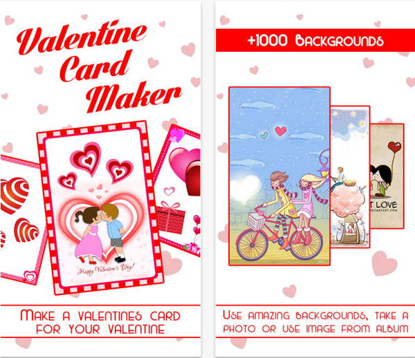 Download FREE Valentine's Day Card Maker for iPhone