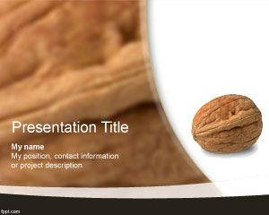 Walnut PowerPoint Template is FREE for download