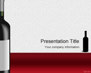 Wines PowerPoint Template is FREE for downloading