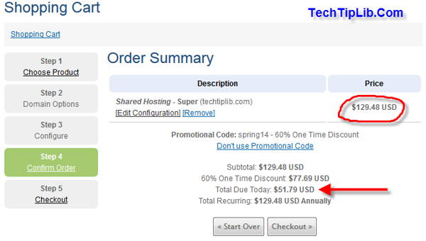 guide to get 60% off web hosting from Hawl Host