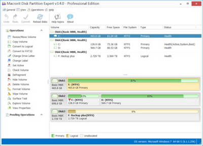 Get FREE license key of Macrorit Disk Partition Expert Professional v3.4.4