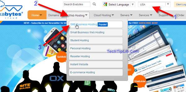 choose sme business hosting to get off 99% web hosting of exabytes