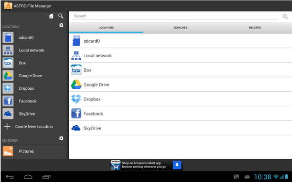 ASTRO File Manager with Cloud - android apps
