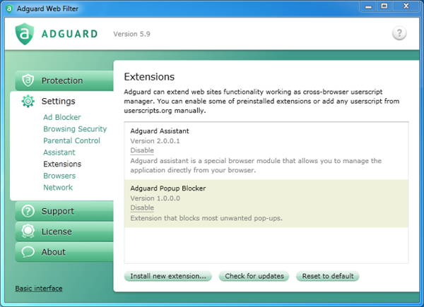 security tool giveaway - Adguard 5.9 is a powerful Internet filter that is compatible with all popular browsers and protects you against obtrusive