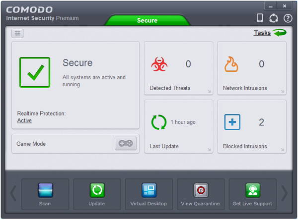 Comodo Internet Security Premium 7 is a collection of powerful security tools which aims to keep your PC safe from even the very latest in malware threats.