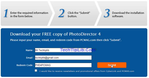 Giveaway of Cyberlink PhotoDirector 4 free for PCMAG 2