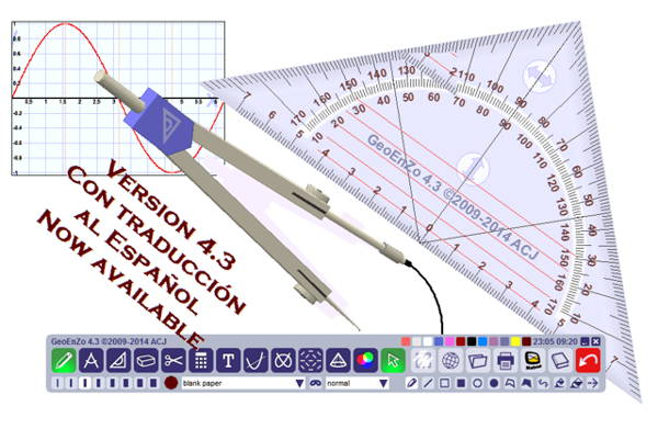 GeoEnzo is a portable and freeware for math teachers, which helps teachers in teaching geometry!