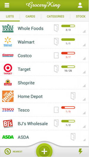 Grocery King Shop List Free is a shopping list app for Android