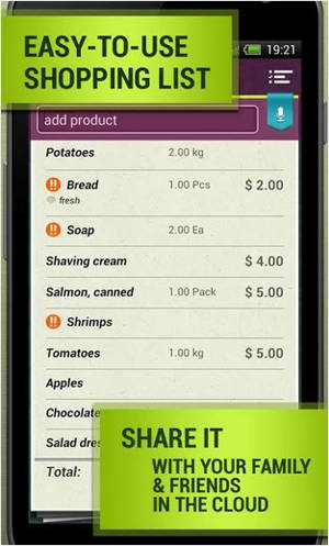 Grocery Shopping List is a shopping list app for Android