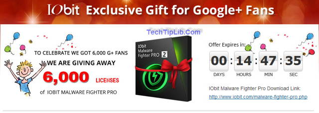 How to get free license key of IObit Malware Fighter Pro giveaway 6 months 1