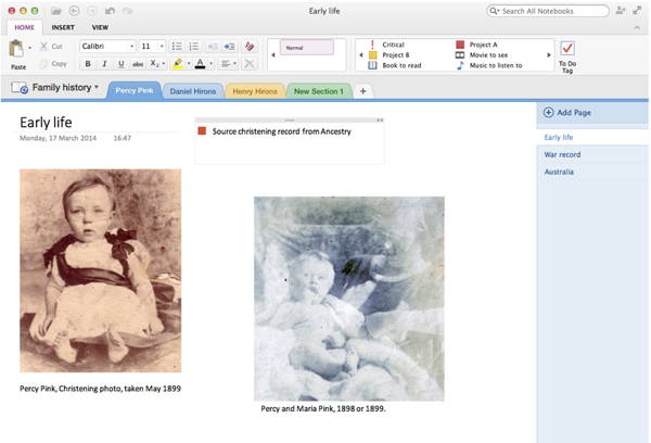 Microsoft OneNote for PC is a FREE note-taking tool