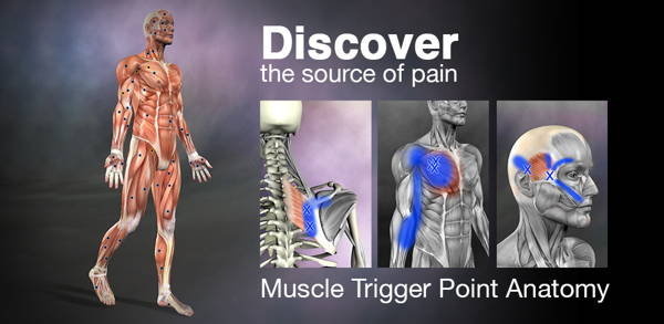 get free Android paid app - Muscle Trigger Point Anatomy 1