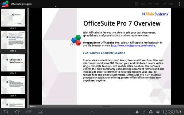free paid Android app - OfficeSuite Professional 7 4