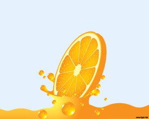 Orange Juice PowerPoint Template is FREE for downloading