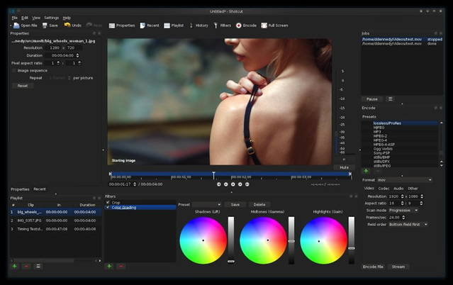 Shotcut is a free video editing tool