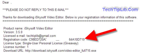 giveaway: free license key iSkysoft Video Editor for Windows march 2014