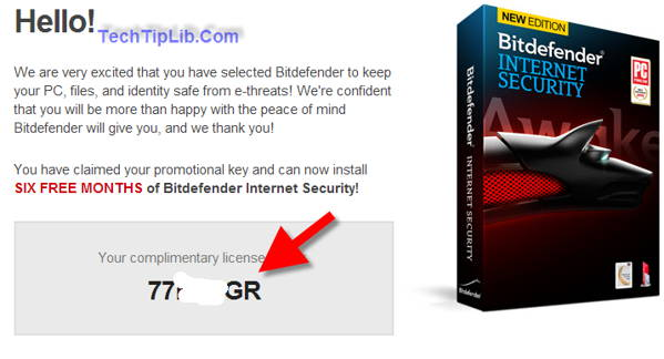 How to get giveaway 6 months of Bitdefender Internet Security 2014-march-2