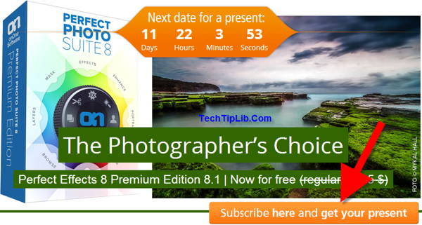 enter the photo tool giveaway-Perfect Effects 8 Premium Edition 8.1