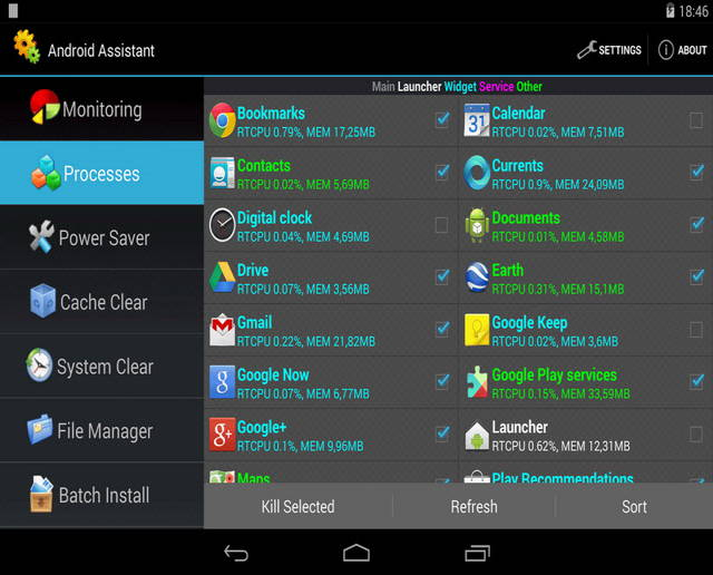 Android Assistant - The best free optimizer