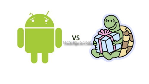Android vs turtle - What if my mobile Android starts to go slow?