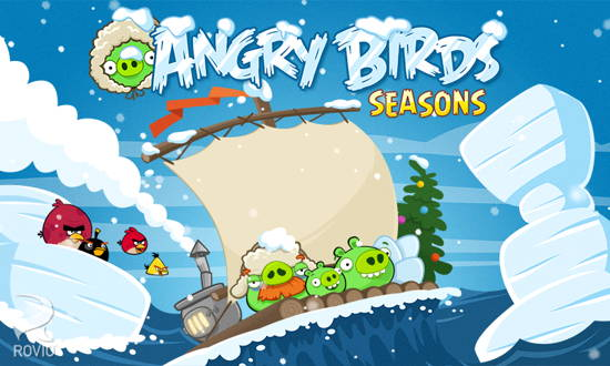 Angry Birds Seasons Free-9 Free Angry Birds game for Android