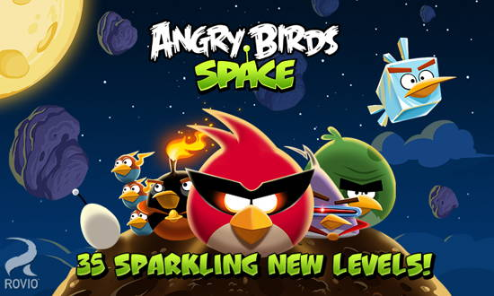 Angry Birds Space Free-9 Free Angry Birds game for Android