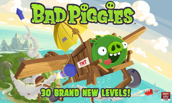 Bad Piggies Free-9 Free Angry Birds game for Android